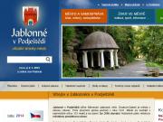 WEBOVÁ STRÁNKA M�sto Jablonn� v Podje�t�d�