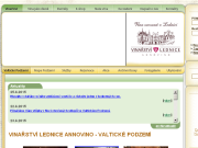 SITO WEB Valticke Podzemi - labyrint vinnych sklepu Vinne sklepy ve Valticich