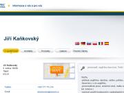 WEBOVÁ STRÁNKA Ji�� Ka�kovsk�
