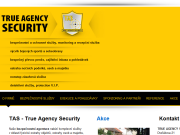 WEBOVÁ STRÁNKA TRUE AGENCY SECURITY s.r.o.