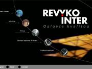WEBOVÁ STRÁNKA REVYKO INTER, spol. s r.o. Realizace výstavních expozic a interiérů