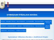 SITO WEB Gymnazium Vitezslava Novaka, Jindrichuv Hradec, Husova 333