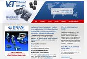 SITO WEB VIENNA-COMPONENTS-TRADING s.r.o. Elektromechanicke a elektronicke dily