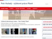 WEBOVÁ STRÁNKA Výškové práce Petr Huňatý