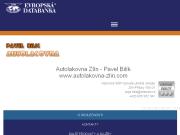 PÁGINA WEB Autolakovna Zlin - Pavel Bilik www.autolakovna-zlin.com