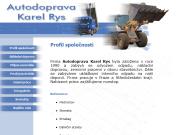 WEBOVÁ STRÁNKA Karel RYS Odvoz odpadu a suti Praha