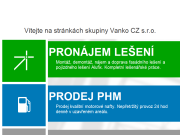 WEBOVÁ STRÁNKA Vanko CZ s.r.o.