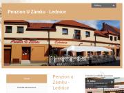 WEBOVÁ STRÁNKA Penzion U Z�mku Ludmila Machov�