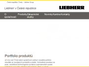 WEBOVÁ STRÁNKA LIEBHERR-STAVEBNÍ STROJE CZ s.r.o.