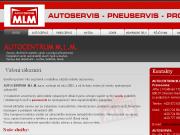 WEBOVÁ STRÁNKA AUTOCENTRUM M.L.M, s.r.o.