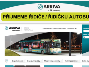 WEBOVÁ STRÁNKA ARRIVA MORAVA a.s. oblast T�inec
