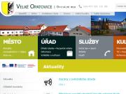 WEBOVÁ STRÁNKA Město Velké Opatovice Městský úřad
