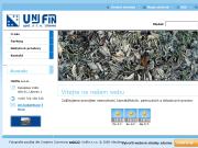 WEBOVÁ STRÁNKA Unifin s.r.o.