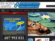WEBOVÁ STRÁNKA RS - Aqua servis s. r. o.