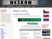 WEBOVÁ STRÁNKA NESKAN, s.r.o.