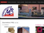 WEBOVÁ STRÁNKA Stavitelství MB, s.r.o.