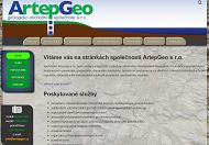 WEBOVÁ STRÁNKA ArtepGeo s.r.o. Geotechnický monitoring Praha