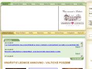 WEBOVÁ STRÁNKA VINAŘSTVÍ LEDNICE ANNOVINO a.s. VLA servisní AG a.s.