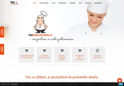 WEBOVÁ STRÁNKA Ráj Gastronomie.cz Gastro vybavení Hustopeče