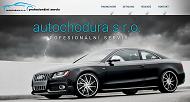 Strona (witryna) internetowa Autochodura s.r.o. Autoservis Havirov