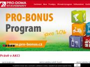 WEBOVÁ STRÁNKA PRO-DOMA, SE Prodejna stavebnin Uherský Ostroh