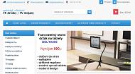 WEBOVÁ STRÁNKA Fiber Mounts s.r.o. Držáky a stolky, prodejna a eshop