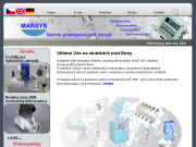 WEBOVÁ STRÁNKA Martin Sýs - MARSYS servis průmyslových strojů