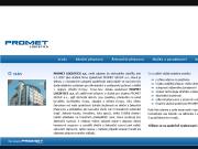 WEBOVÁ STRÁNKA Promet Logistics a.s.