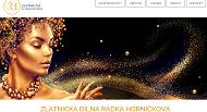 Strona (witryna) internetowa Zlatnicka dilna Radka Hornickova