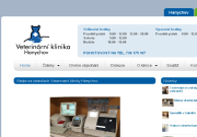 WEBOVÁ STRÁNKA Veterinární klinika Hanychov