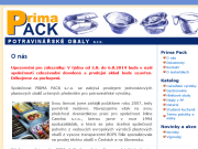 WEBSEITE PRIMA PACK s.r.o.