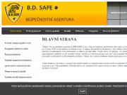 WEBOVÁ STRÁNKA B.D.SAFE, s.r.o.