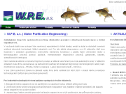 SITO WEB W.P.E. a.s. Water Purification Engineering