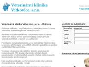WEBOVÁ STRÁNKA Veterinární klinika Ostrava Vítkovice, s.r.o.