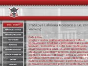 WEBOVÁ STRÁNKA Prášková lakovna Holasice s.r.o.