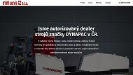 WEBOVÁ STRÁNKA DYWI servis CZ s.r.o. Stroje značky DYNAPAC v ČR
