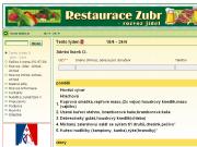WEBOVÁ STRÁNKA Restaurace Zubr Zubr Trading LTD