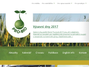 WEBOV� STR�NKA PRO-BIO Svaz ekologick�ch zem�d�lc�