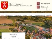 WEBOVÁ STRÁNKA Obec Hrusice