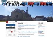 SITO WEB Obec Srby