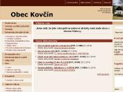SITO WEB Obec Kovcin