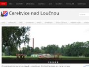 SITO WEB Obec Cerekvice nad Loucnou