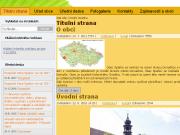 WEBOVÁ STRÁNKA Obec Spáňov