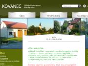 WEBOVÁ STRÁNKA Obec Kovanec