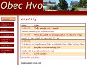 SITO WEB Obec Hvozdany