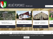 WEBOVÁ STRÁNKA Obec Velké Popovice