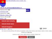 WEBOVÁ STRÁNKA Obec Jedlová