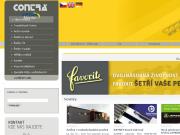 WEBOVÁ STRÁNKA CONTRA Praha, s.r.o. Distribuce průmyslových řetězů Praha