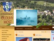 WEBOVÁ STRÁNKA Obecn� ��ad Dlouh� Most