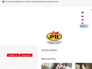 WEBOVÁ STRÁNKA JML Fitness Line, s.r.o. Smluvní výroba doplňků stravy, vitamínů